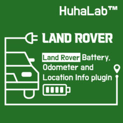 Huhalab Land Rover Battery, Odometer and Location Info plugin