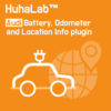 Huhalab Audi Battery, Odometer and Location Info plugin